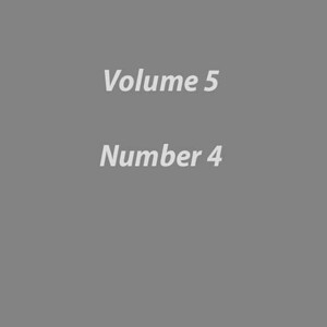 Volume 5 Number 4