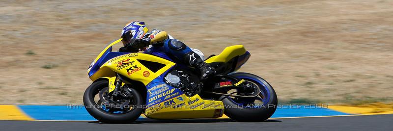 Kawasaki AMA Superbike Practice