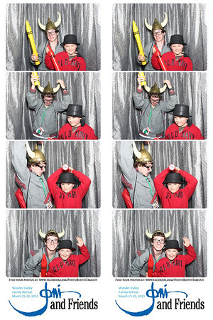 March 27, 2013 Joni n Friends Photo Booth Strips