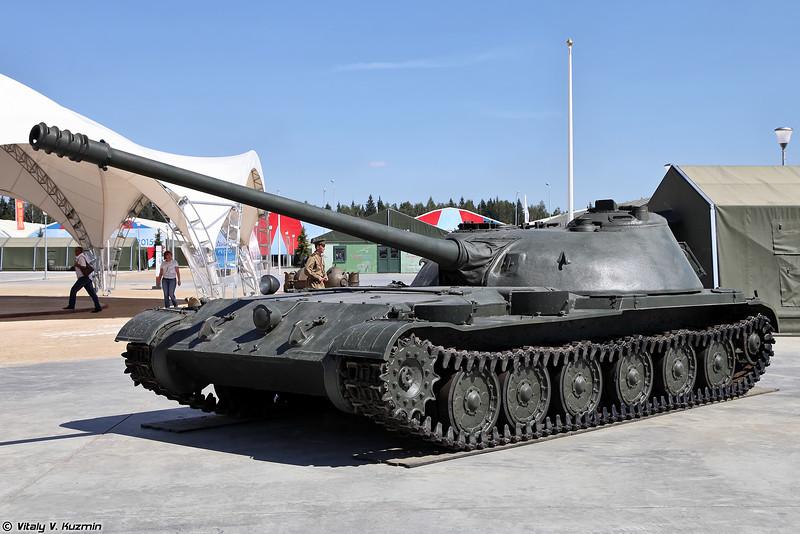 Самоходная артиллерийская установка СУ-100М Объект 416 (SU-100M Object 416 experimental self-propelled artillery)