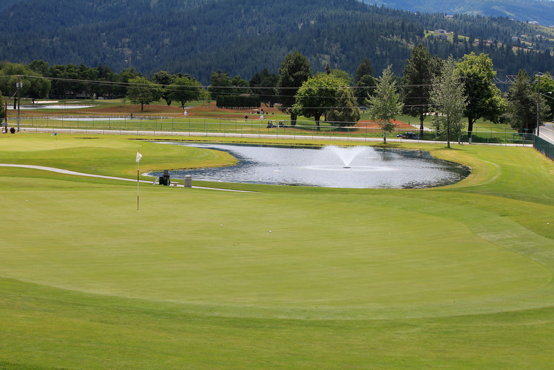 #5 Green, Medowwood GC,  Liberty lake, Wa