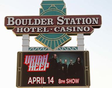 URIAH HEEP ..Railhead Boulder Station, Las Vegas