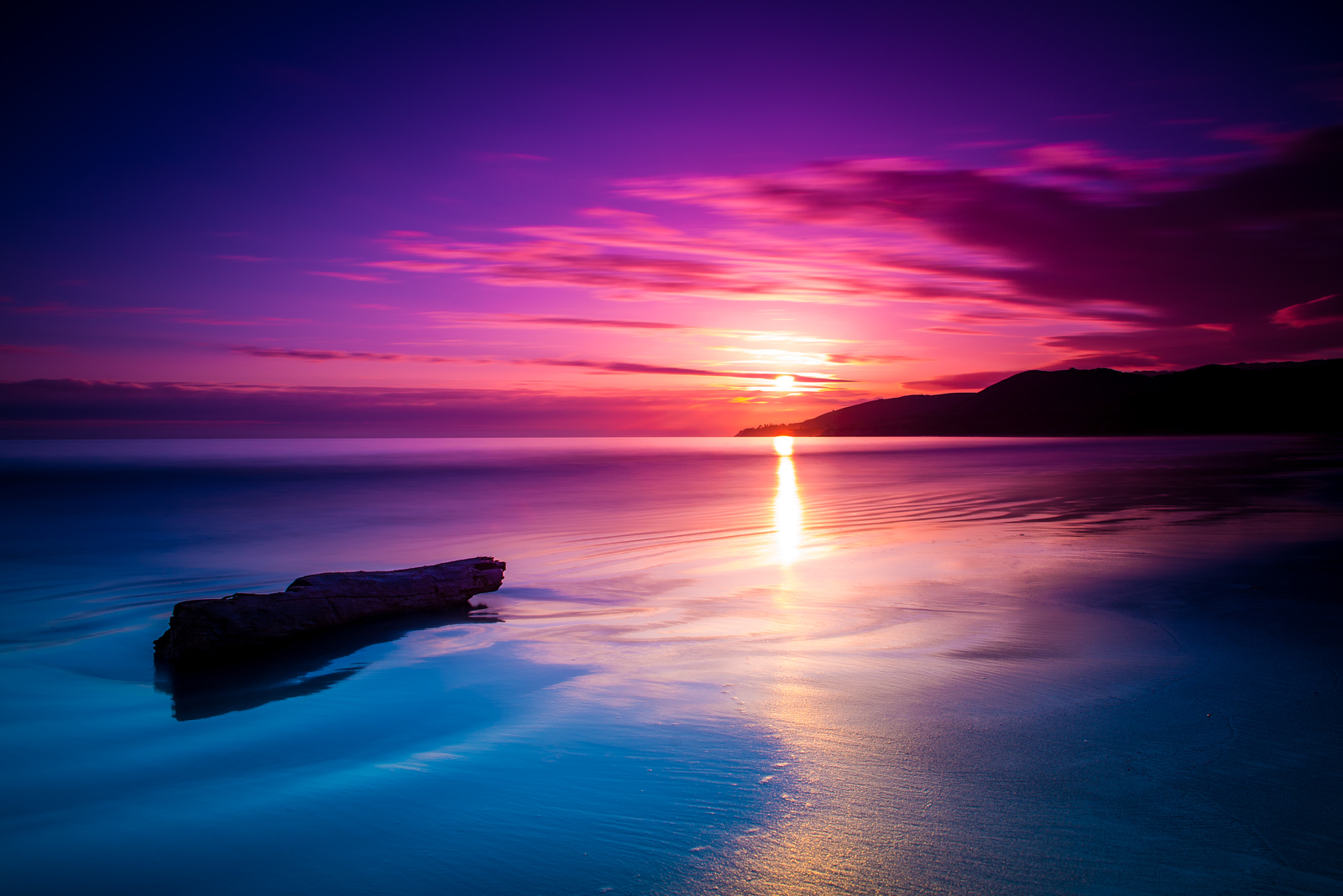 El Capitan Soothing Sunset
