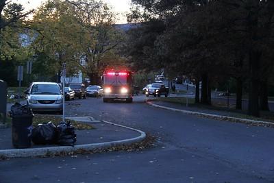 Firefighter Response, Photos by Harry Hontz, Ridge Terrace, Coaldale (10-26-2014)