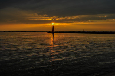 Grand Haven, Pierre Marquette, Lighthouses, and Sunsets