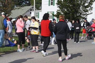 Walk Run for St Jerome Regional School, Marian High School, Hometown (4-28-2012)