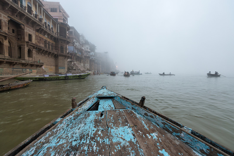 Foggy Morning on the Ganges