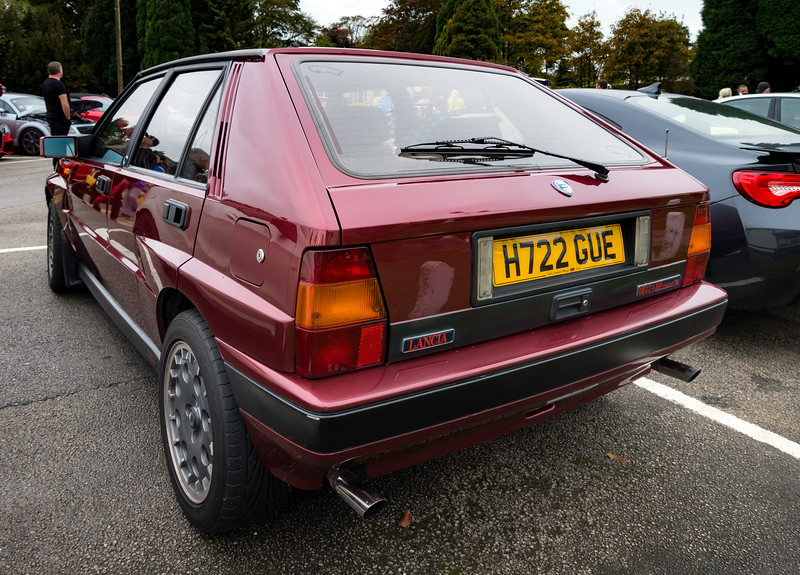 1991 Lancia Delta HF Integrale 16v