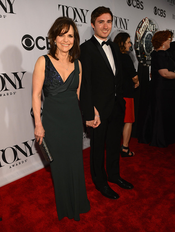 . Actress Sally Field and Sam Greisman attend The 67th Annual Tony Awards at Radio City Music Hall on June 9, 2013 in New York City.  (Photo by Larry Busacca/Getty Images for Tony Awards Productions)