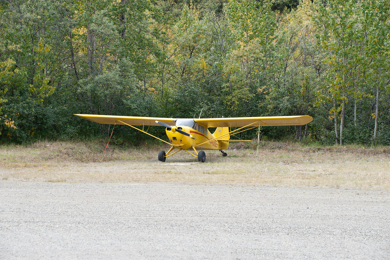 There is a small air strip at Kantishna.