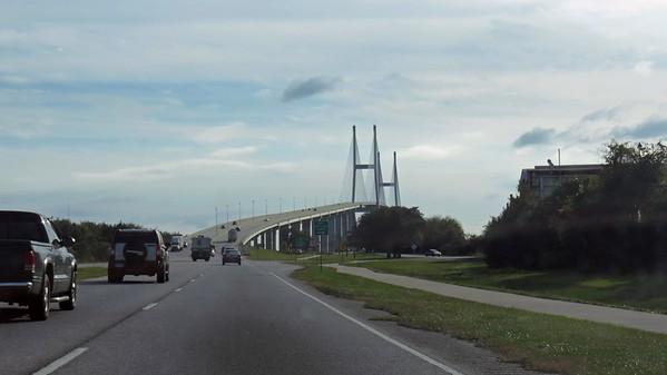 November 24:  The ride to Jekyll Island, Georgia .  .  .