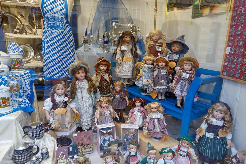 Shop window in Regensburg