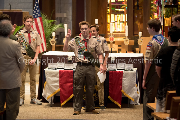 Troop 345 Eagle Scout Court of Honor 2017