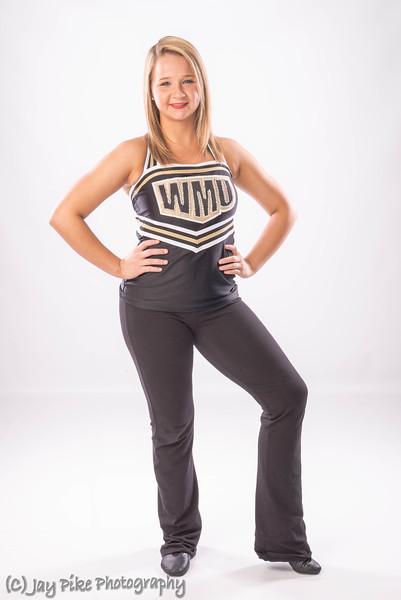 2014-15 WMU Dance Team Individual Shots