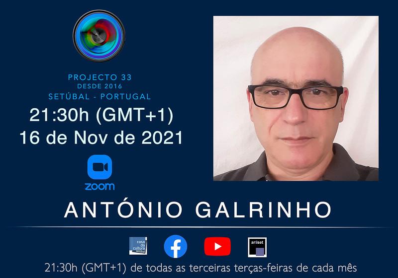 António Galrinho - Novembro 2021