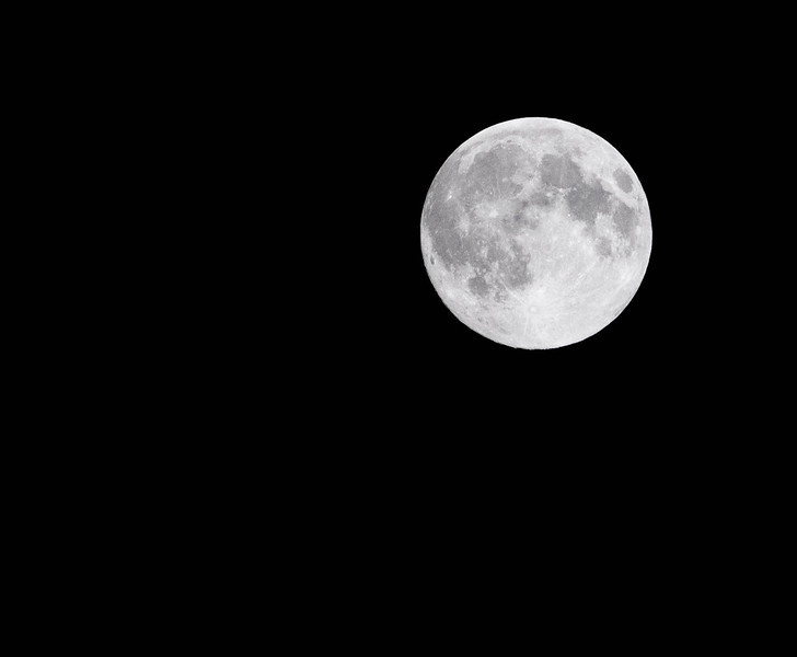Super Moon in NY on 6/2213