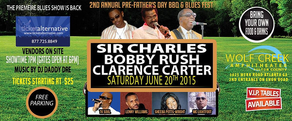 6-20-15 2nd  Annual Bbq and Blues Fest