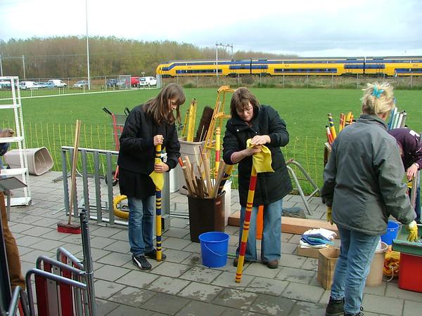 Klussen agility 10 november 2007