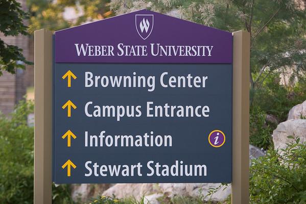 Photos of Campus Signs 6/24/2008