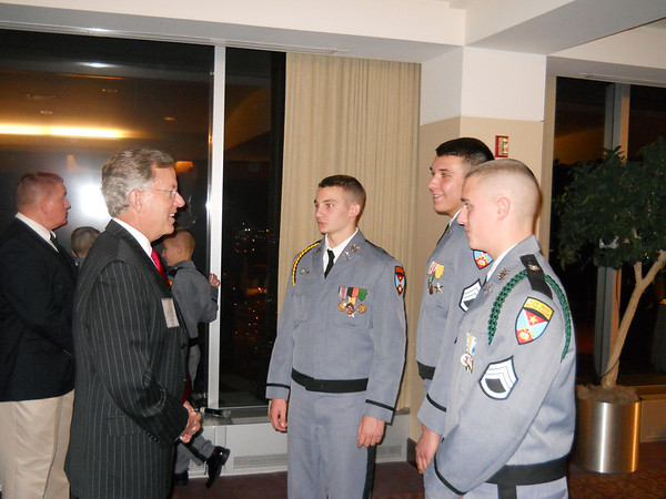 Cadets take part in Family Foundation Event