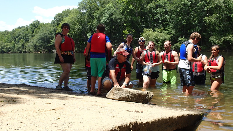 Church Mission Group - Saluda River Canoeing - 7-13-2016