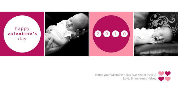 Sample 4x8 Valentine's Day Cards