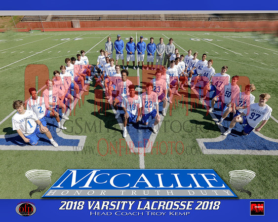 A4 - MCCALLIE 8X10 TEAM PHOTO 2018