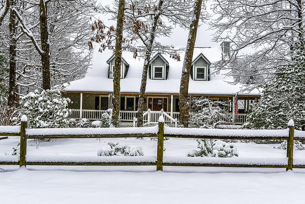 Second Snow Of 2020 - 2-8-20