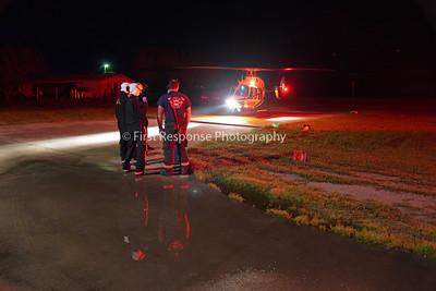 Branch TX. Double stabbing, Landing Zone. FM 982