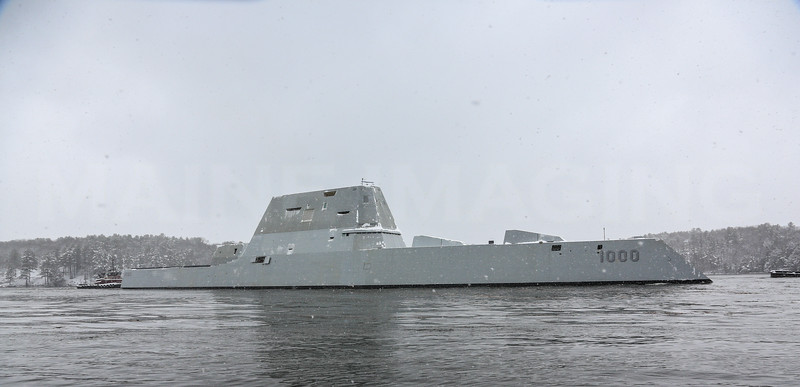 Zumwalt Destroyer 3/21/16