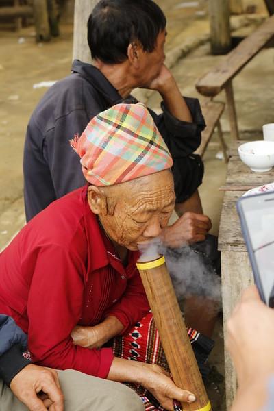 Traditional smoke pipe.