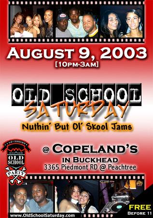 Aug-09-2003 OSS @ Copeland's ::: ATL, GA, USA
