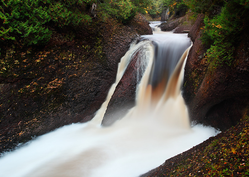 Something Like Silence - Gorge Falls (Black River Scenic Byway - Ottawa National Forest)