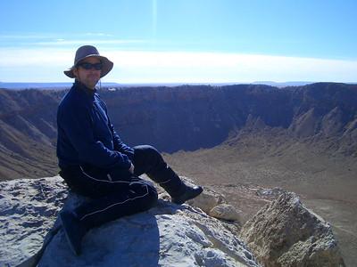 Day 8 -- Monday, November 26 -- Winslow, AZ to the Grand Canyon