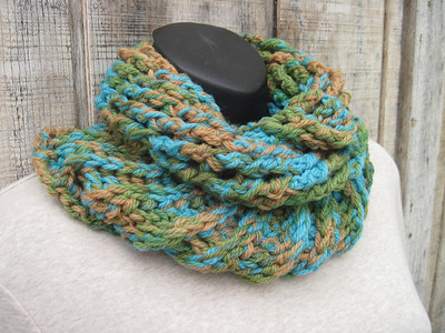 Crochet Works-scarves and cowls