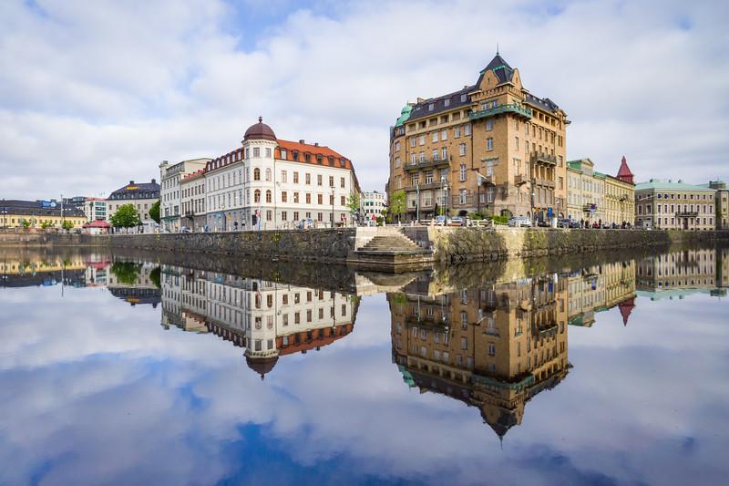 'Floating City' - Gothenburg, Sweden