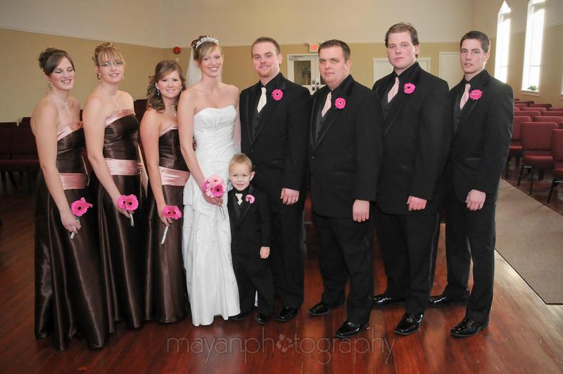 Wedding Party - Church - Dec/20/08