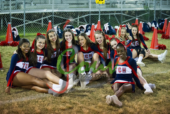 2016 TCH Fans, Danceteam and Cheerleaders at OHS game