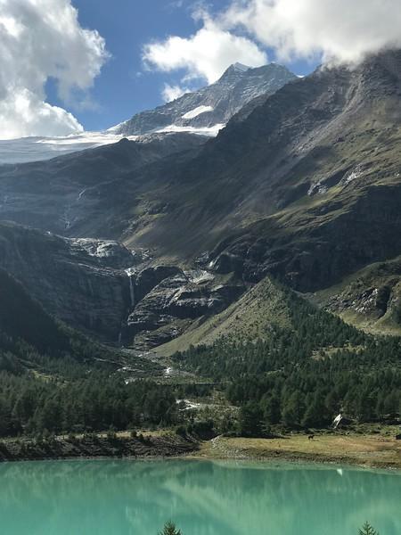 Cavaglia to Alp Grum & Albergo Belvedere