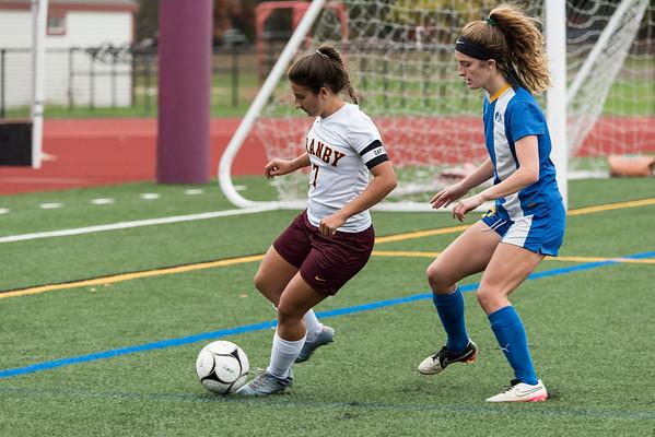 2017_10_25 GMHS Girls Soccer vs Rockville