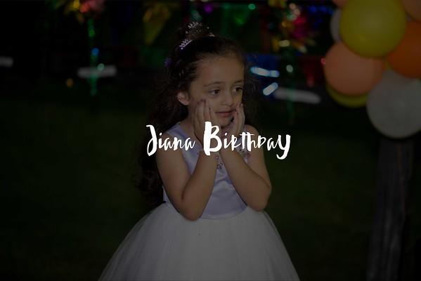 Jiana Birthday