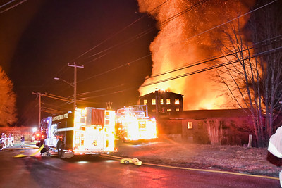 Mill Building Fire - 936 Bailey Hill Rd, South Killingly - 3/30/19