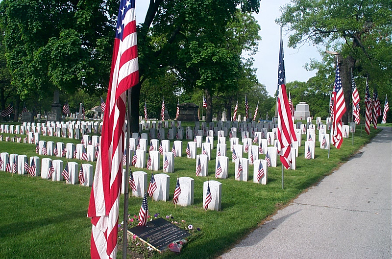 In Memory: Aisle of Flags
