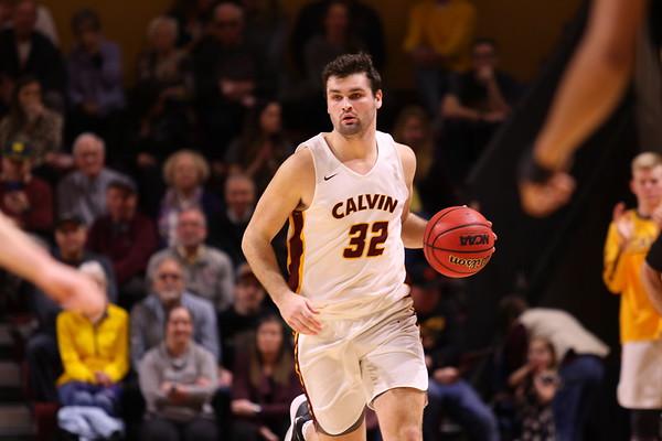 Calvin U Basketball vs Adrian - 2/22/20