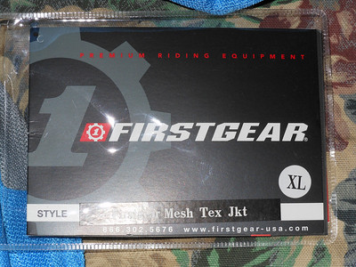 First Gear Mesh Jacket