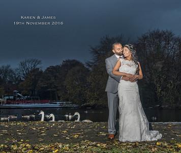 Karen & James - 19th November 2016