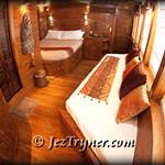 Shinta cabin, Arenui, Raja Ampat, Indonesia, Indian ocean, Asia