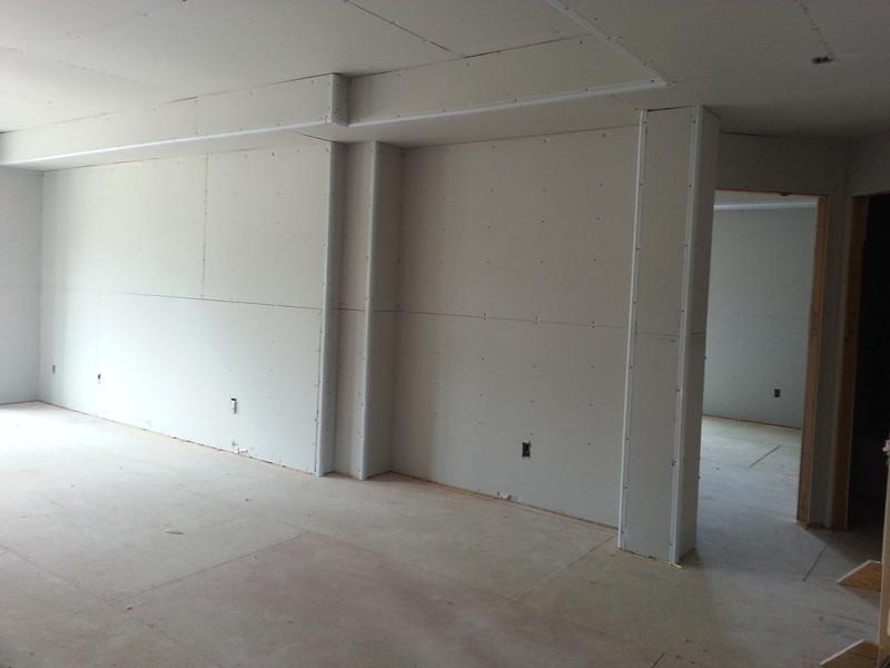 Mandi's craft/office area.