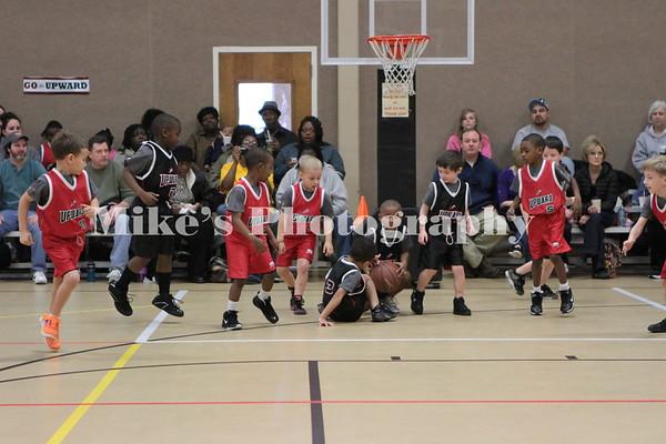 Upward Basketball Week 5 9:45 Game