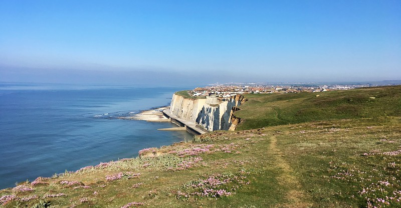 Peacehaven cliffs
